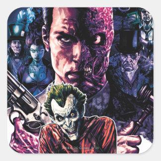 Batman - Arkham Unhinged #11 Cover Square Sticker
