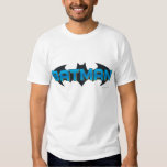 Batman | Blue Name Logo Shirts