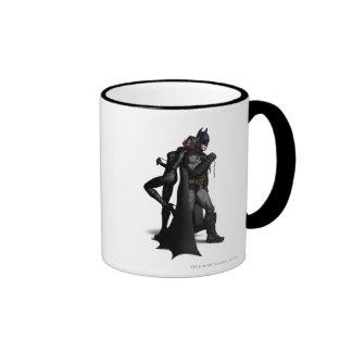 Batman & Catwoman Ringer Mug