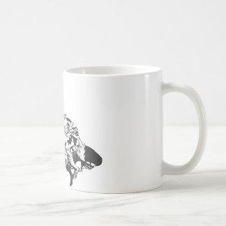 Batman Comic Lines Basic White Mug