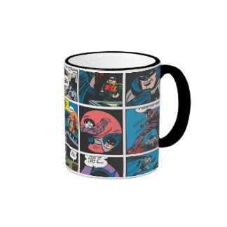 Batman Comic Panel 5x5 Ringer Mug
