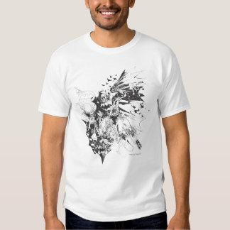 Batman Crazy Collage T-shirts