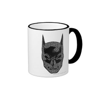 Batman Head Mantra Ringer Mug