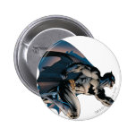 Batman Leaping Side View 6 Cm Round Badge