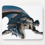 Batman Leaping Side View Mouse Pad