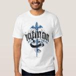 Batman | Name with Sword Logo Tshirts