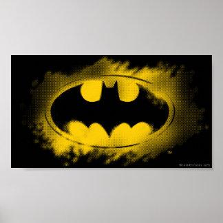 Batman Symbol | Black and Yellow Logo Poster