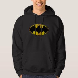 Batman Symbol | Oval Gradient Logo Sweatshirts