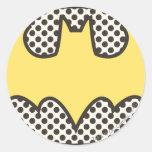 Batman Symbol | Showtime Logo Round Sticker