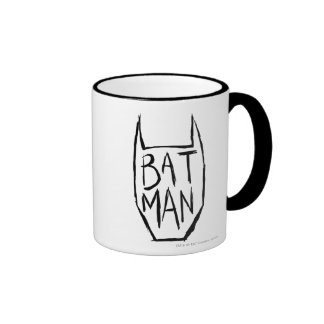 Batman Type in Head Ringer Mug