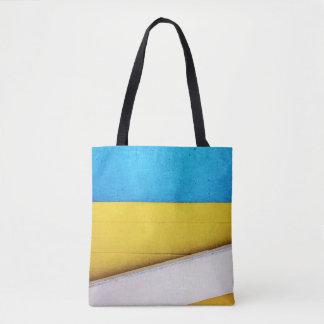 'Battered Building' Minimal Abstract by STaylor Tote Bag