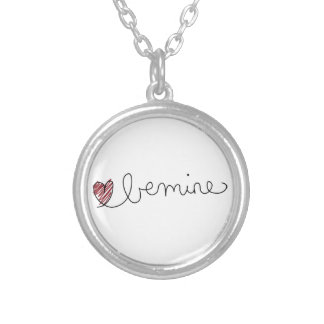 be mine valentines ideas round pendant necklace