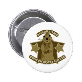 Be the Squirrel 6 Cm Round Badge