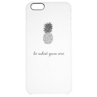 be what you are clear iPhone 6 plus case