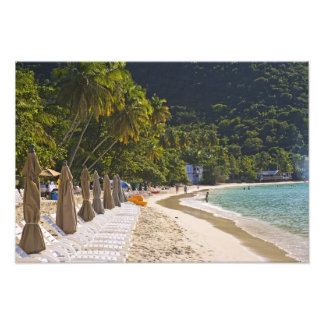 Beach at Cane Garden Bay, Island of Tortola Photo Art