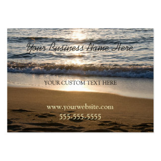 Beach at Sunset Business Cards