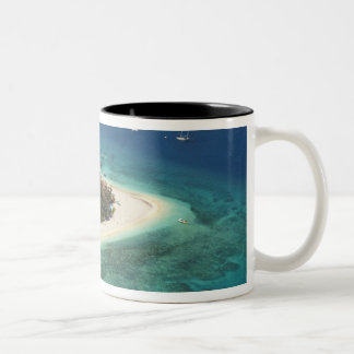 Beachcomber Island Resort, Fiji Two-Tone Mug
