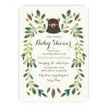 Bear Cub Baby Shower 13 Cm X 18 Cm Invitation Card