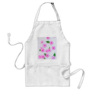 beautiful floral decoration standard apron