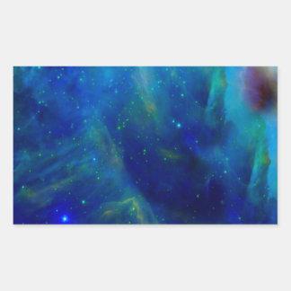 Beautiful Orion Nebula Rectangular Sticker