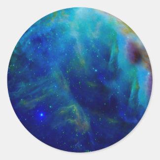 Beautiful Orion Nebula Round Sticker