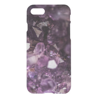 Beautiful Purple Amethyst Crystal Abstract iPhone 7 Case