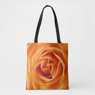 Beautiful Yellow Rose Flower Floral Tote Bag