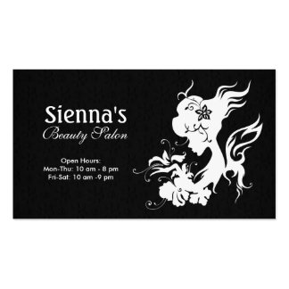 Beauty Salon (White) Pack Of Standard Business Cards