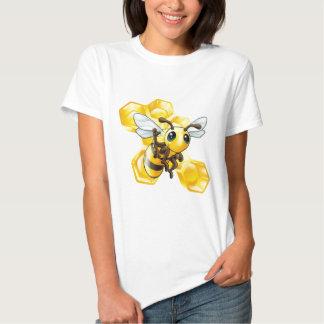 Bee and honeycomb shirts