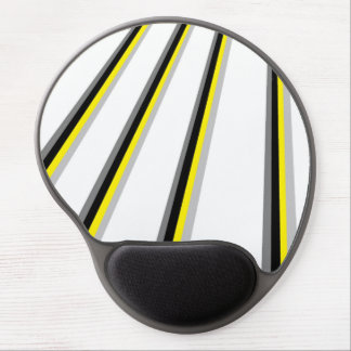Bee stripes mousepad gel mouse pad