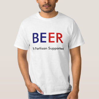Beer: Bi-Partisan Supported Tee Shirts