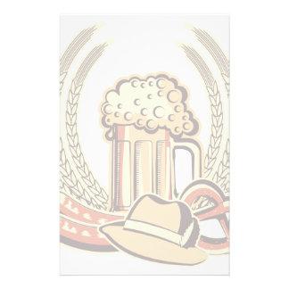 Beer Oktoberfest Graphic Stationery