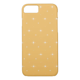 Beeswax And Shining Stars Elegant Pattern iPhone 7 Case