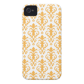 Beeswax Damask iPhone 4/4S Case