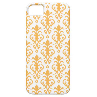 Beeswax Damask iPhone 5 Case