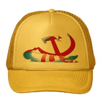 Behind The Obama Logo Cap