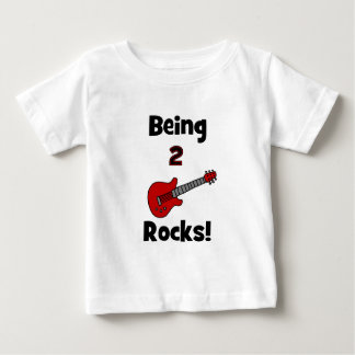 Being 2 Rocks!  with Guitar T Shirt