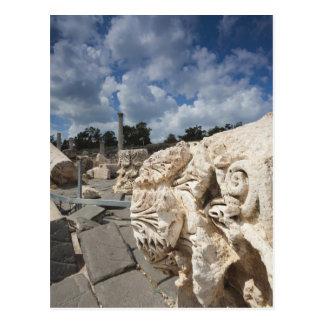 Beit She-An National Park, Roman-era ruins Postcard