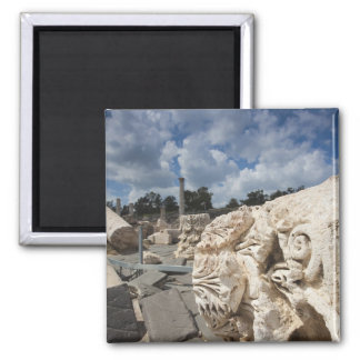 Beit She-An National Park, Roman-era ruins Square Magnet