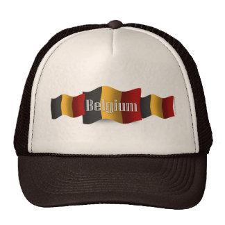 Belgium Waving Flag Cap