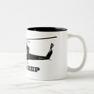 Bell_412_EP_white, Bell 412EP Two-Tone Mug