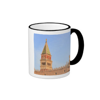 Bell Tower, Piazza San Marco, Venice, Italy Ringer Mug