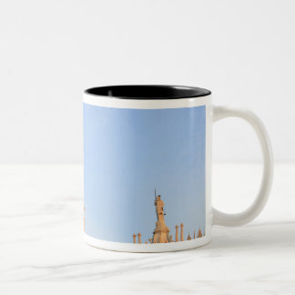 Bell Tower, Piazza San Marco, Venice, Italy Two-Tone Mug
