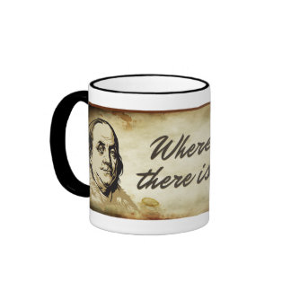 Ben Franklin Liberty Quote Mug