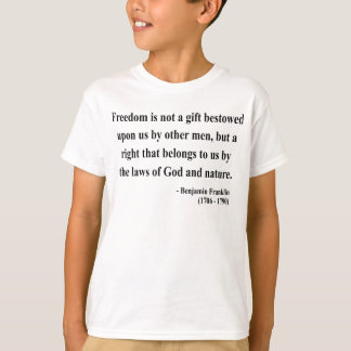 Ben Franklin Quote 4a Tees