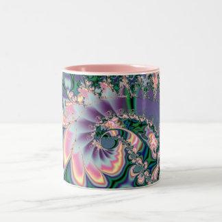 Bender Fractal art Two-Tone Mug