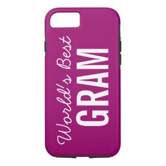 Berry World's Best Gram Custom iPhone 7 iPhone 7 Case