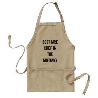 Best MRE Chef in the Military Standard Apron