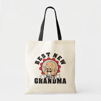 Best New Grandma 2012 Budget Tote Bag