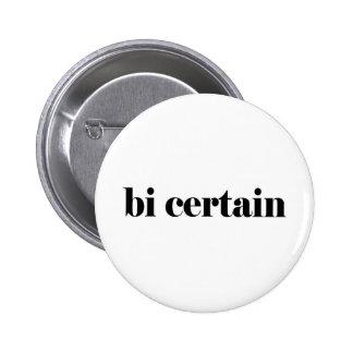 bi certain 6 cm round badge